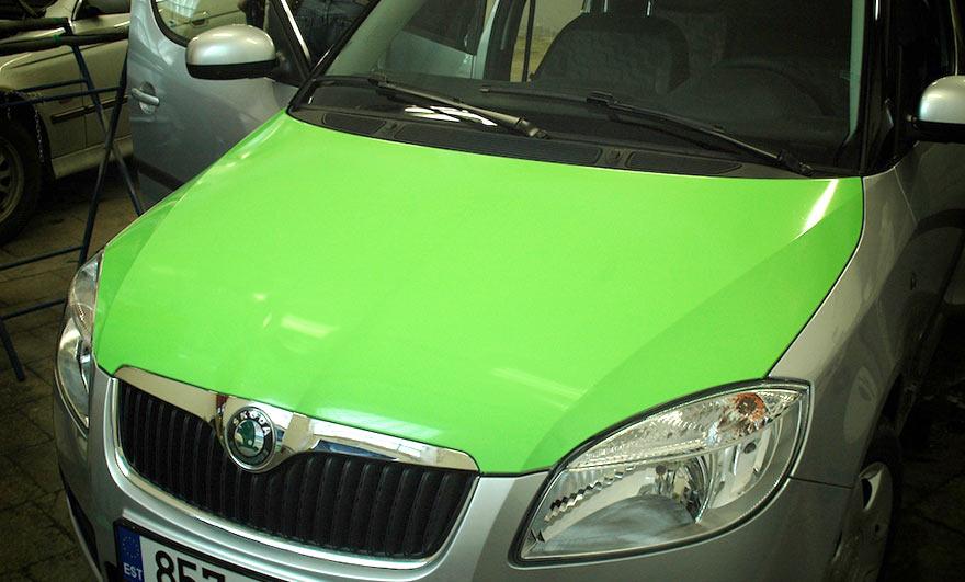 Auto värvi täielik asendamine 3