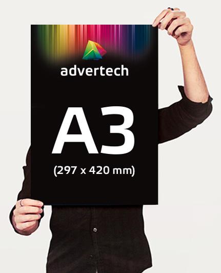 Reklaamplakat А3 Formaat (297×420)