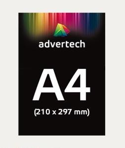 Reklaamplakat A4 Formaat (210×297)